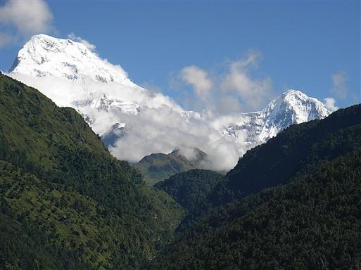 En route fra Ghandruk til ABC (Annapurna Base Camp)