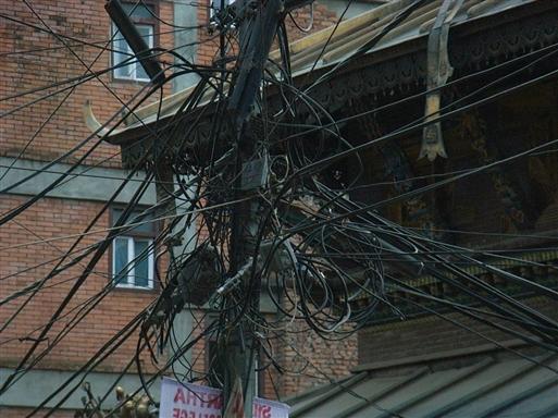 Er der en elektriker tilstede?