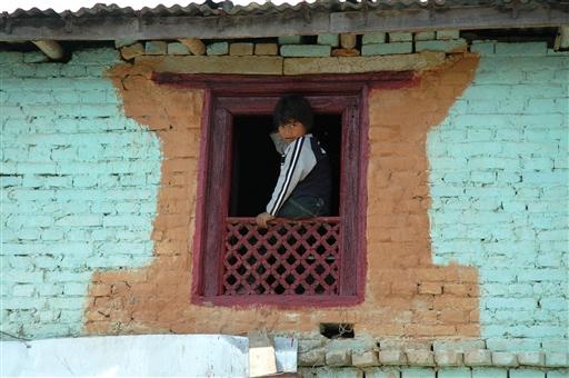 Traditionel nepalesisk byggestil