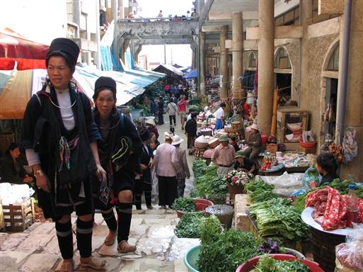 Store markedsdag i Sapa!