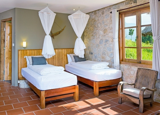 Bløde senge og lyse farver
