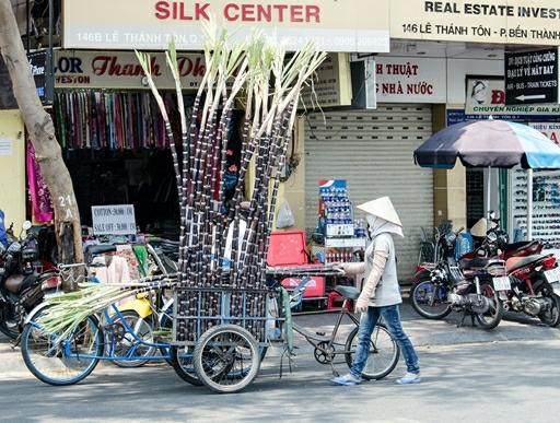 Vietnams gader byder altid på uventede oplevelser