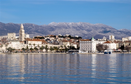 Byen Split og Diocletianus Paladset