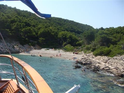 Og endnu en sv�mmetur i det bl�gr�nne Adriaterhav