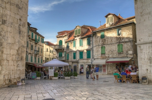 Kroatien gemmer p� mange hyggelige havnebyer