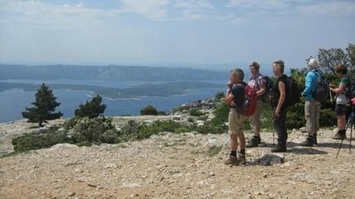 Fotostop er et must, når der vandres i billedskønne Kroatien
