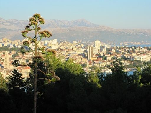 Fantastisk udsigt ud over Split