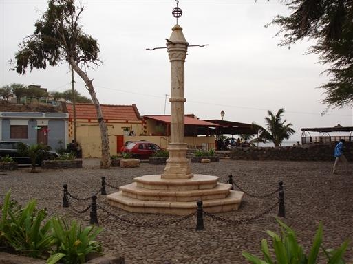 Slavemarkedet i Cidade Velha.