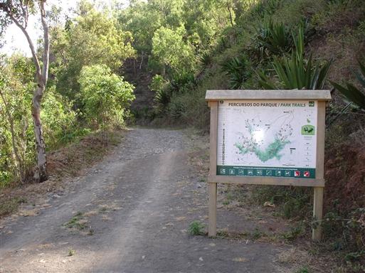 Starten på Serra Malagueta trekket.