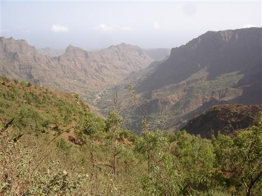 Serra Malagueta landskab.