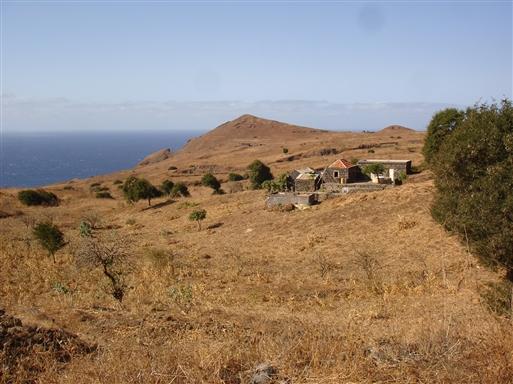 Typisk landsted på Cabo Verde.
