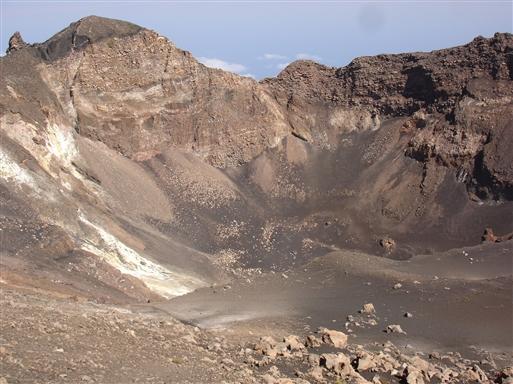 Kraterbunden af Pico do Fogo.