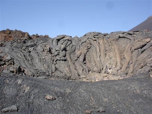 Fascinerende lavaformationer fra 1995.