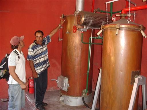 Destillering på moderne vis.