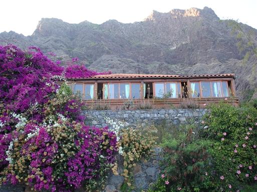 Vores hotel på Santo Antao.