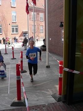 Inga Nielsen - suveræn vinder af 6,6 km. Foto: Jens Jørgen Jensen.