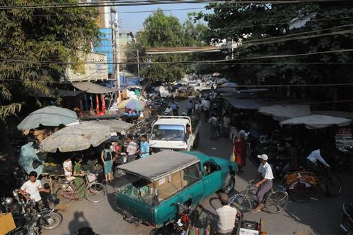 Travlhed i Mandalay