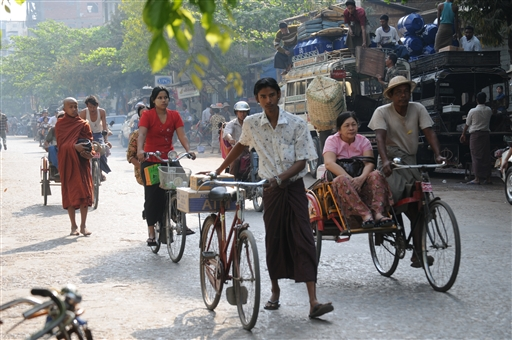 Et stille formiddag i Mandalay