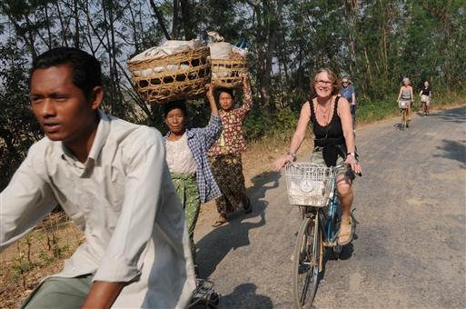 Nogle har det let på cyklerne, andre må slide