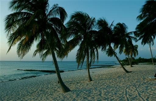 Stranden ved Maria La Gorda
