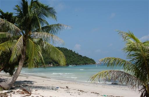 Rene hvide strande på Phu Quoi øen.