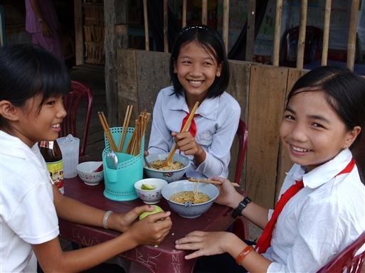 Nudelsuppen, Pho er den naturlige og sunde morgenmad for alle vietnamesere.