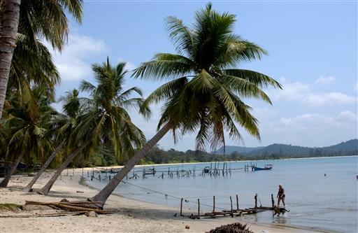 Rent varmt vand og små primitive broer på Phu Quoi Island