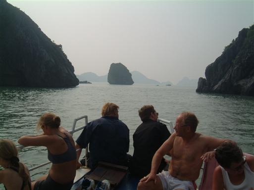 En smuk sejltur med vores egen båd.