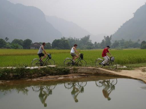 Et øjebliksbillede i Mai Chau dalen.