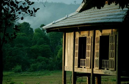 Et stolpehus i Mai Chau.