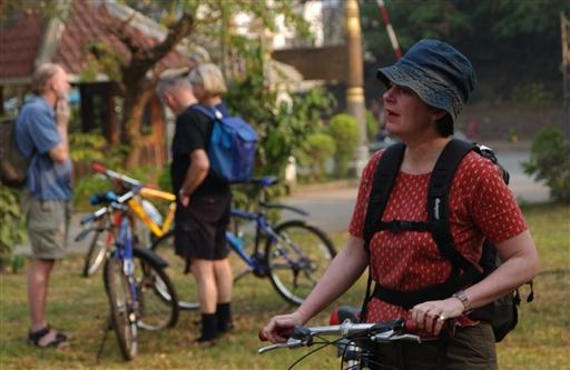 Og den første cykeltur kan begynde.