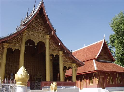 Luang Prabang gik på forunderligvis fri af Vietnamkrigens rædsler.