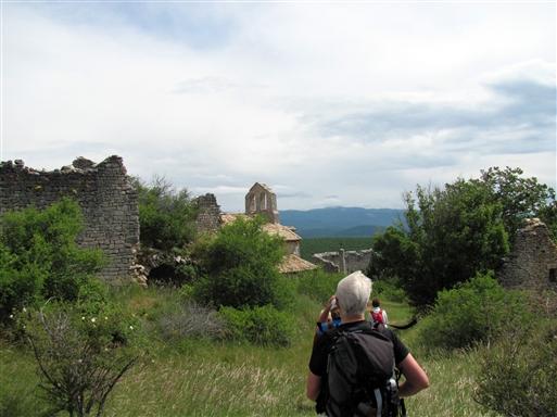 Ruinerne af Haute Montsalier