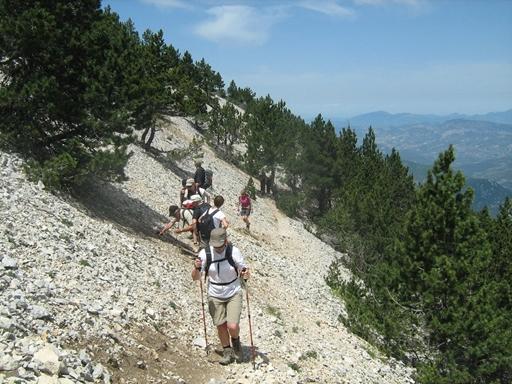 Mont Ventoux - nordsiden