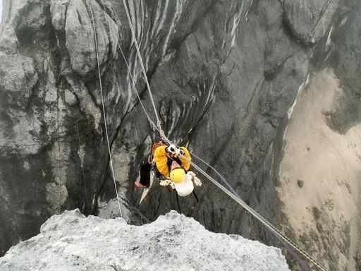 Det er en god udfordring at hive sig i land i ca. 4.500 meters højde (Foto: Henrik Olsen)
