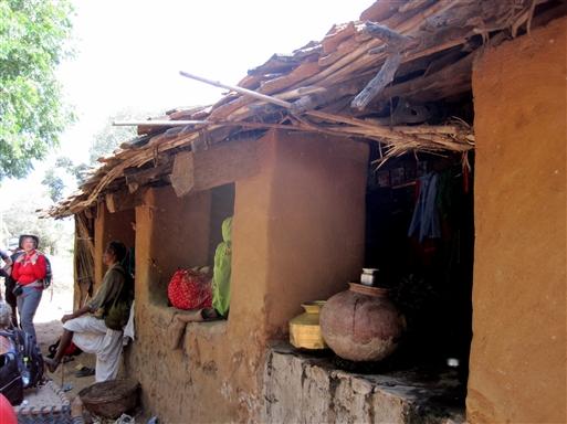 Kumbhalgarh trekket giver mulighed for at komme helt tæt på lokalbefolkningen.