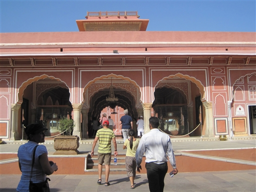 City Place museum i Jaipur.