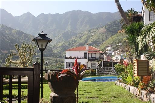 Vores hyggelige familiehotel Los Telares i Hermigua på La Gomera