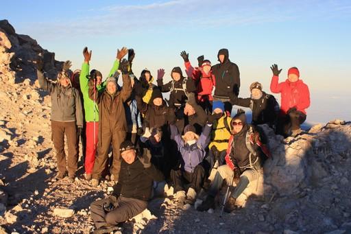 Yay! Turens først top Teide er i hus!