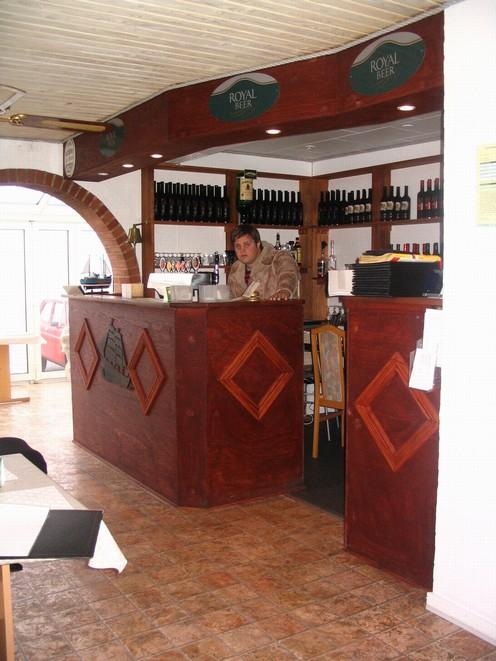 Renovering af restaurant i Hvide Sande, VestjyllandDette er som den ...