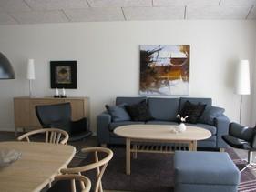 Ferie lejlighed 'Troldbjerg' i Hvide Sande  Opholdstuen