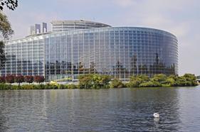 EU Parlamentet Strasbourg
