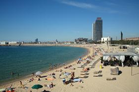 Barcelonas kyst