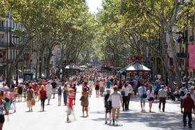 Barcelonas gader