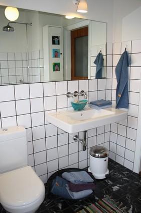 De ekstra rene håndklæder, kan være en del af interiøret...