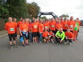 Alle deltagerne fra MGU løb