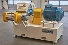 """254 mm (10"""") hammermill with single feeding"""
