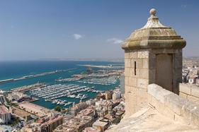 Santa Bárbara borgen Alicante