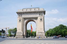 Triumfbuen i Bukarest -  Arcul de triumph