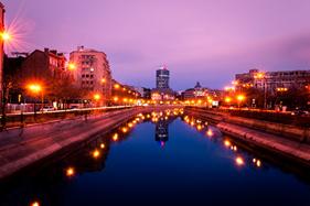 Aftenstemning i Bukarest